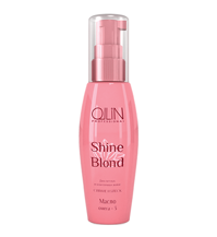 OLLIN Shine Blond Масло для восстановления окрашенных и осветленных волос ОМЕГА-3, 50 мл