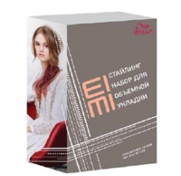 Wella Eimi Набор Лак Stay Styled + пена Natural Volume (Велла Еими ), 300 + 300 мл