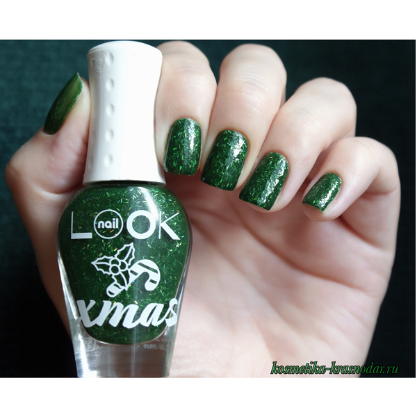 NailLook Trends X-MAS Collection Лак для ногтей X-Mas tree 31473