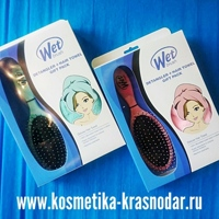 Wet Brush Набор Коралловая геометрия: Щетка + Полотенце