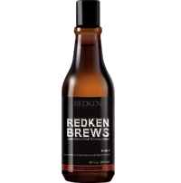 Redken MEN Brews Шампунь 3 в 1, 300 мл