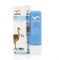 REBIRTH Emu Lip Balm Бальзам для губ с маслом Эму, 3,7г