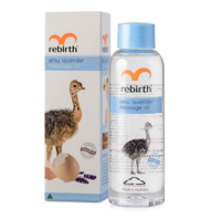 REBIRTH Emu Lavender Massage Oil Масло для массажа с маслом Эму и лавандой, 125 мл