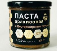 Royal Nut Арахисовая паста с Вустерширским соусом, 300 гр