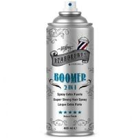 Beardburys Boomer Hair Spray Лак для волос 2 в 1, 400 мл